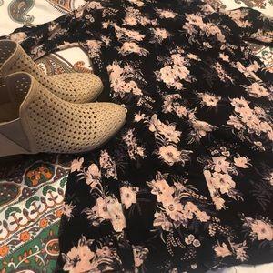 High Neck Long Sleeve Flora Dress